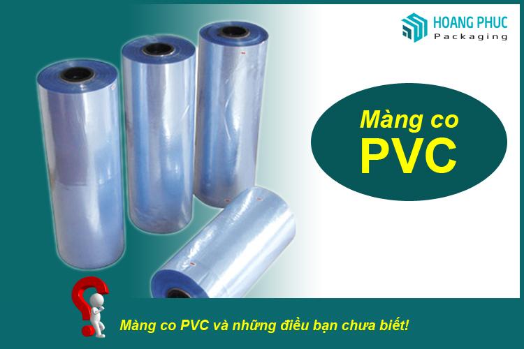 Màng co nhiệt PVC