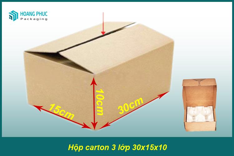 Thùng carton 30x15x10
