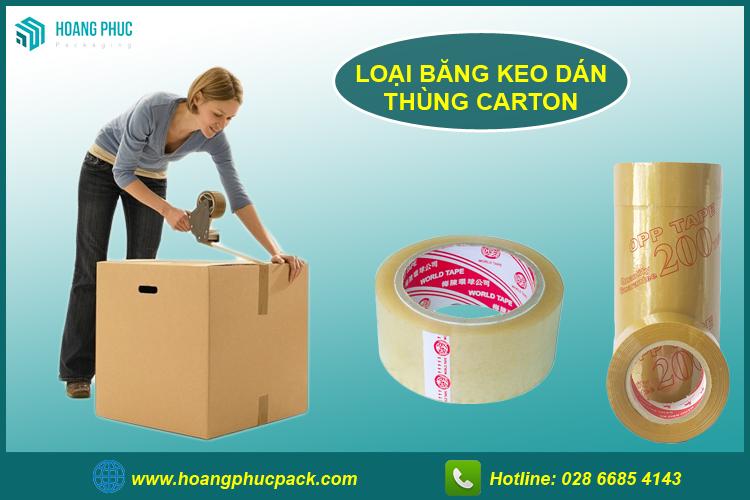 Băng keo dán thùng carton