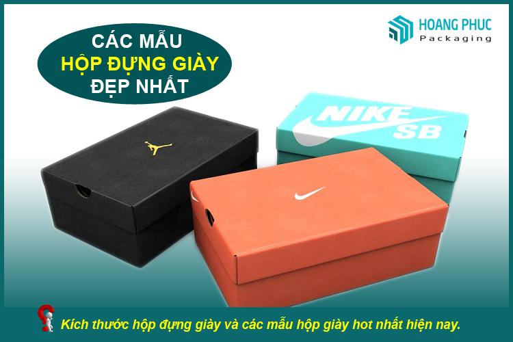 Hộp đựng giày carton