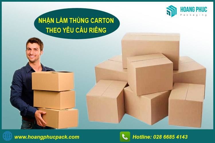 Nhận làm thùng carton theo yêu cầu