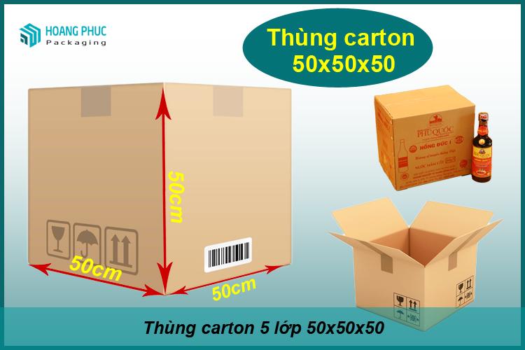 Thùng carton 50x50x50